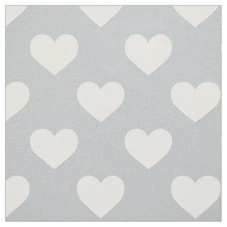 Fabric: Grey hearts Fabric