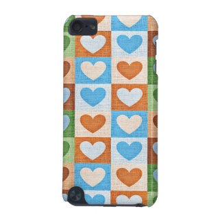 Fabric Hearts iPod Touch (5th Generation) Cases