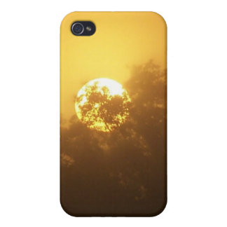Fabric-Inlaid Hard Shell Case for iPhone 4/4S