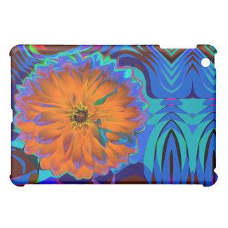 Fabric-Inlaid Hard Shell pop art flower iPad Mini Covers