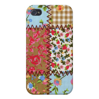 Fabric Patchwork iPhone 4 Speckcase iPhone 4/4S Case