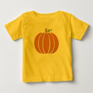 Fabric Pumpkin Baby T-Shirt
