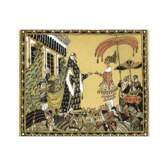 """fabric """"Queen of Sheba """" Canvas Print"""