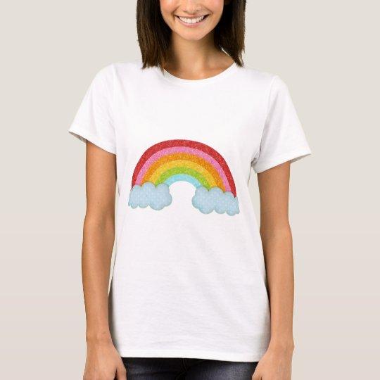 Fabric rainbow T-Shirt