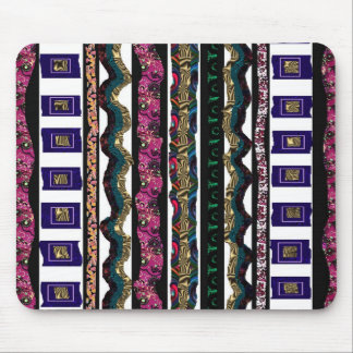 Fabric Scraps device cases skins Mousepads