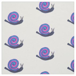 Fabric snail