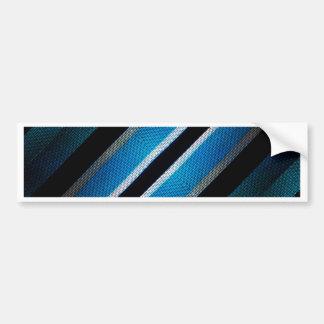 Fabric Texture Tech Pattern Bumper Sticker
