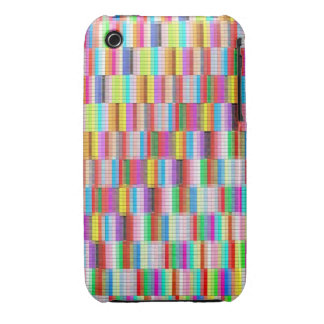 Fabric with squares iPhone 3 Case-Mate cases