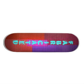 Fabricated Skate Board Decks