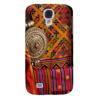Fabrics, Bhutan Galaxy S4 Case