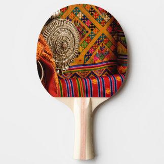 Fabrics, Bhutan Ping Pong Paddle