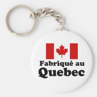 Fabrique au Quebec Key Ring