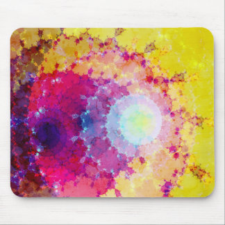 Fabstract Rings Mouse Pad
