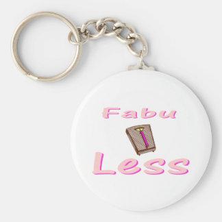 Fabu-less Key Ring