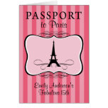 Fabulous 15th Passport Invitation