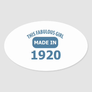 Fabulous 1920 year old designs stickers