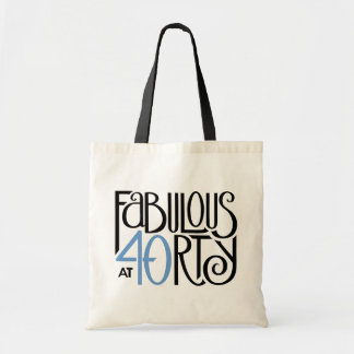 Fabulous 40 black blue Bag