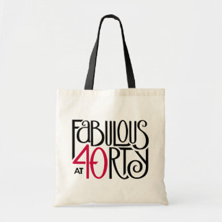 Fabulous 40 black red Bag
