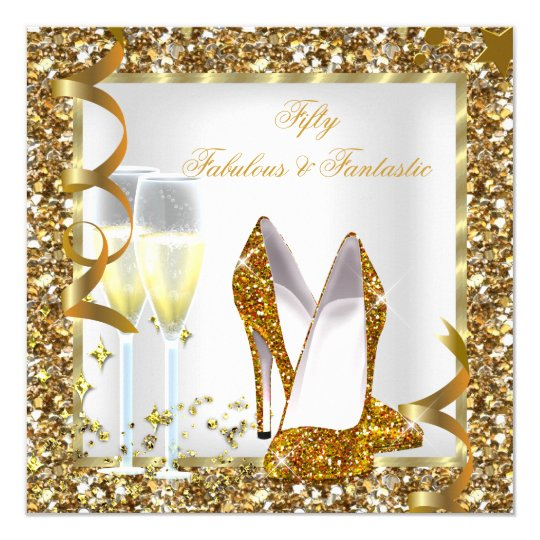 Fabulous 50 & Fantastic White Gold Birthday Party