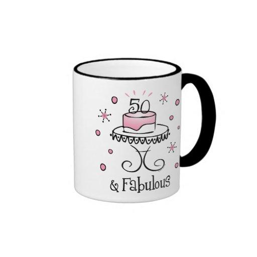 Fabulous 50 Mug
