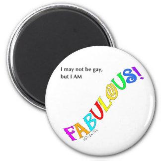 Fabulous 6 Cm Round Magnet