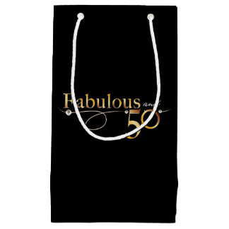 Fabulous and 50 | small gift bag