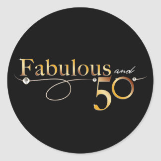 Fabulous and 50 | Sticker
