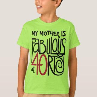 Fabulous at 40rty Kids T-shirt