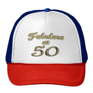 Fabulous at 50 Trucker Hat