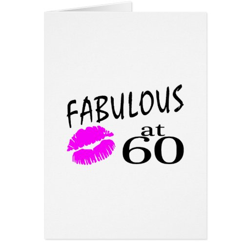 Fabulous at 60 cards