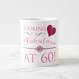 Fabulous At 60 Jumbo Mug