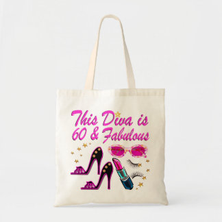 FABULOUS AT 60 TOTE BAG