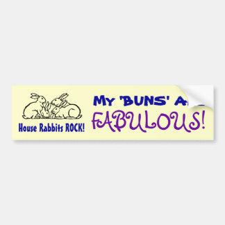 Fabulous Buns II Bumper Sticker