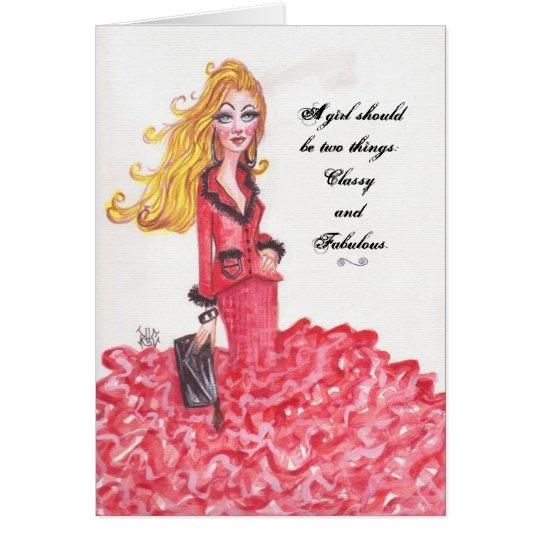Fabulous-Card Card