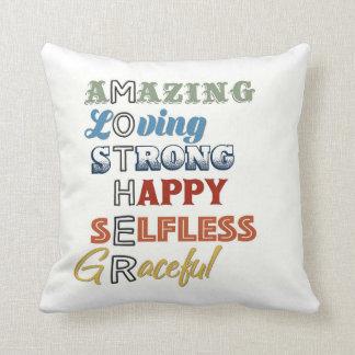 Fabulous Cushion throw for Mum