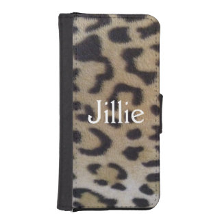 Fabulous Customizable Leopard Print wallet case