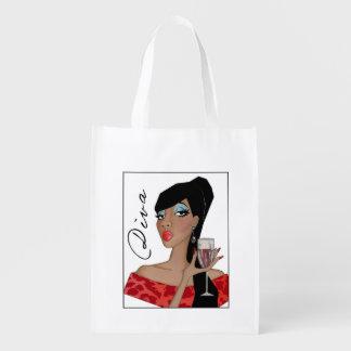 Fabulous DIVA Reusable Grocery Bag