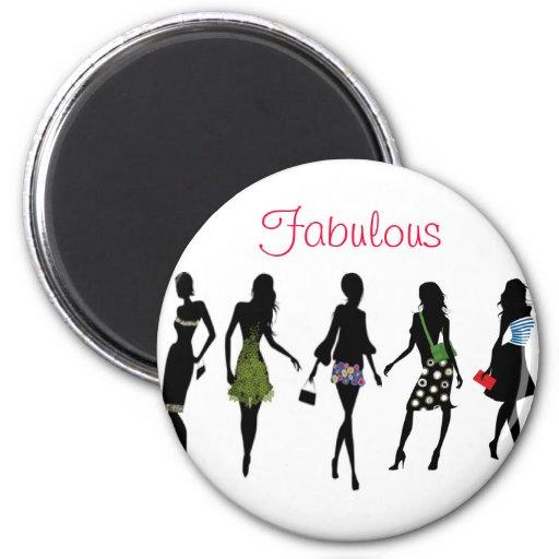 Silhouette Fifty Fab Woman: Fabulous Fashion Women Silhouettes