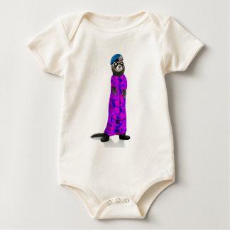 Fabulous Ferret Soldier Baby Bodysuit