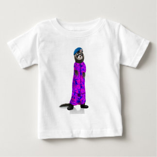 Fabulous Ferret Soldier Baby T-Shirt