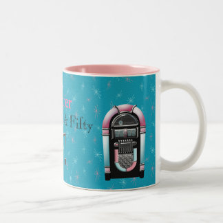 Fabulous Fifty Custom Birthday Mug
