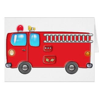 Fabulous Fire Truck Greeting Card