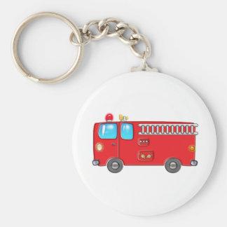 Fabulous Firetruck Keychain