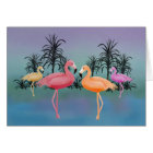 Fabulous Flamingos Card