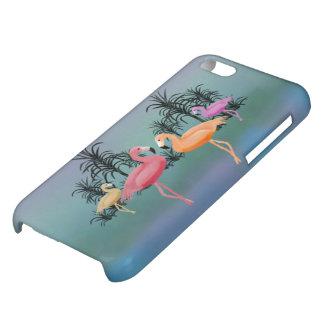 Fabulous Flamingos iPhone 5C Cases
