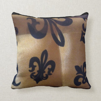 Fabulous Floating Fleur de Lis Cushion