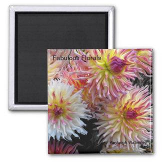 Fabulous Florals Square Magnet