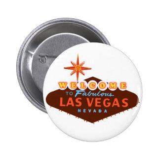 Fabulous Las Vegas 6 Cm Round Badge