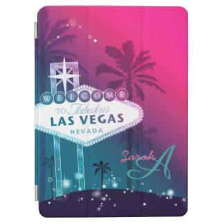 Fabulous Las Vegas Hot Pink Magnetic iPad Air Case iPad Air Cover