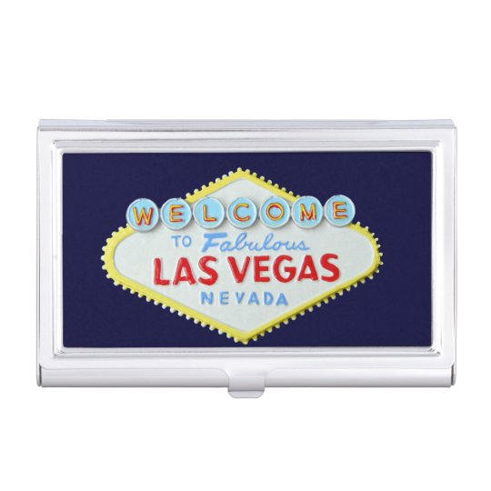 Fabulous las vegas sign business card holder zazzle fabulous las vegas sign business card holder reheart Images